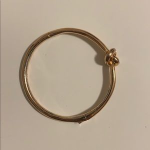 Kate space rose gold bangle